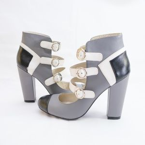 Mojo Moxy MOD real Leather 4inch heels